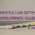 Evenimentele si cursurile lunii septembrie pentru parintii clujeni